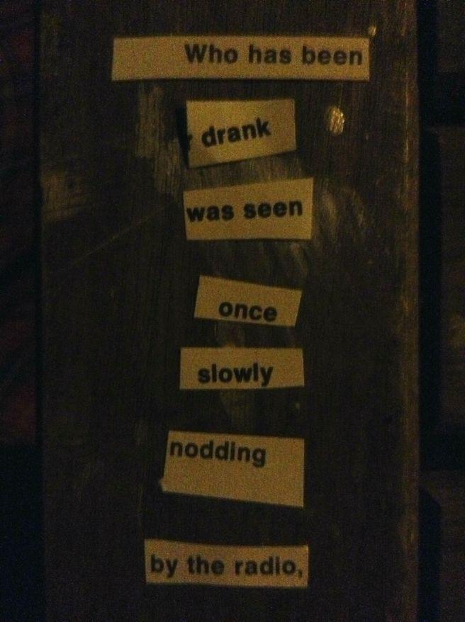 poem cutup